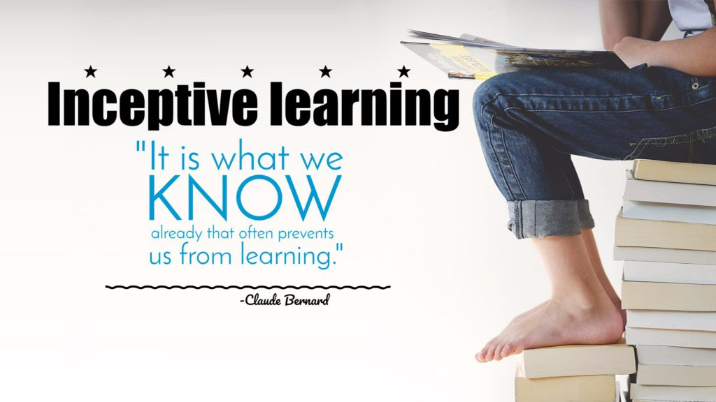 Inceptive learning